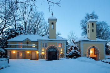 ARCOTEL- salzburg kapelle im winter