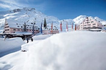 Arlberg1800RESORT Hospiz aussen