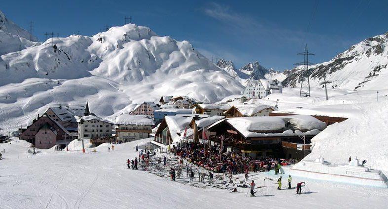 Arlberg1800RESORT St Christoph Panorama