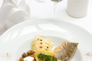 Birkenhof Fisch am Teller
