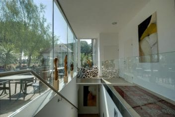 Birkenhof Glasfront