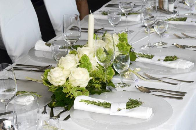 Brandner Schiffahrt – Tischdekoration