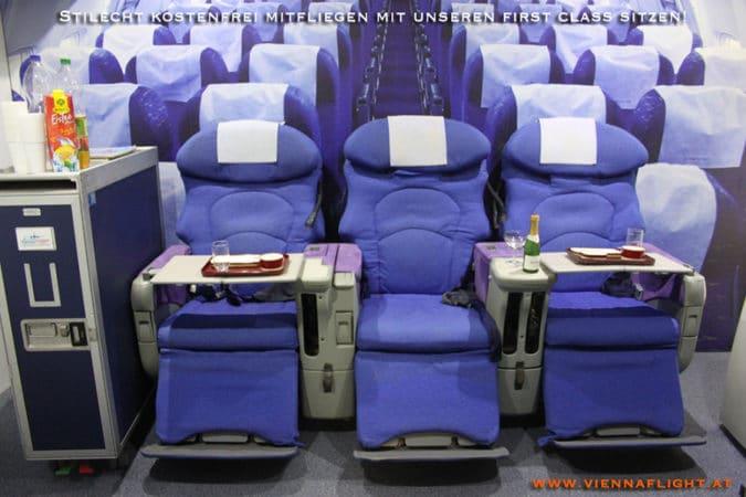 First Class Sitze