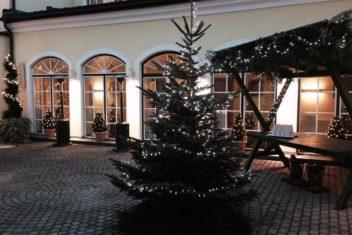 Goldener Stern Hof Weihnachten
