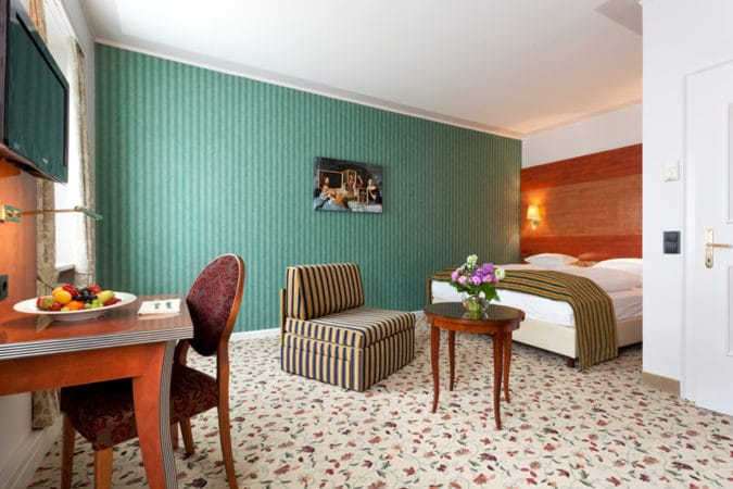 Grand Hotel Bidermeier Zimmer
