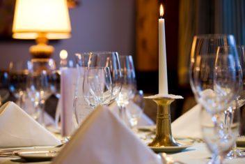 Hotel Sonnenburg gedeckter Tisch