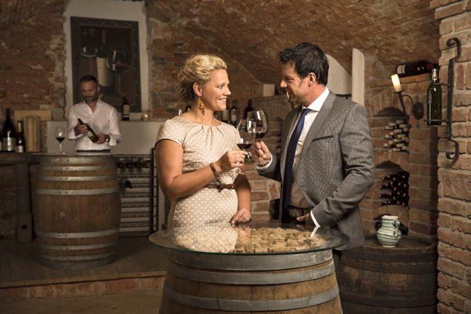 Landhotel Schicklberg Weinverkostung
