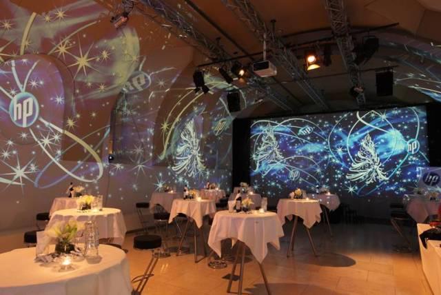 MQ Arena21 Weihnachtsfeier HP  Foto und Visuals Lichttapete