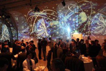 MQ Arena21 Weihnachtsfeier von HP Foto und Visuals Lichttapete