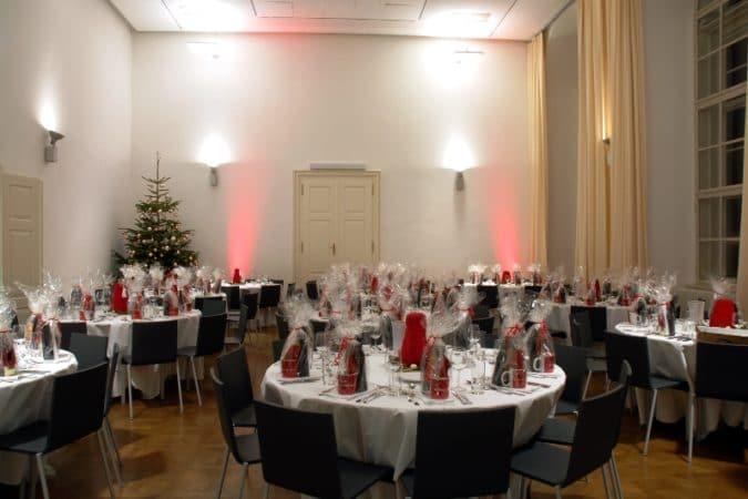 MQ Barocke Suite A Weihnachtsfeier  Foto Sonnendeck
