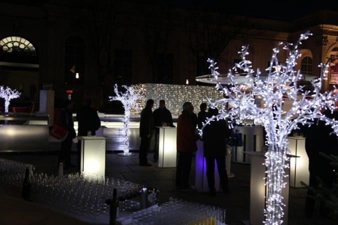 MQ Haupthof  Weihnachtsfeier YIT  Foto YIT