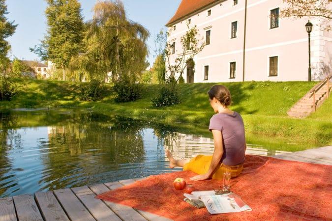 Schloss Hotel Zeilern - Schlossteich