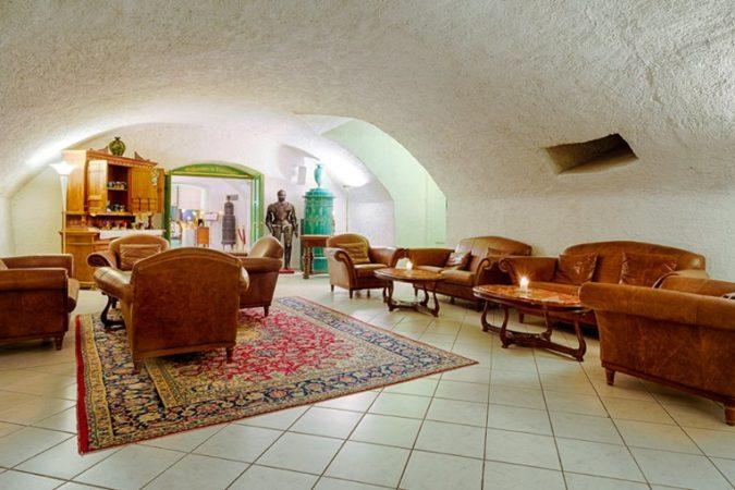 Schloss Krumbach_Hotelhalle