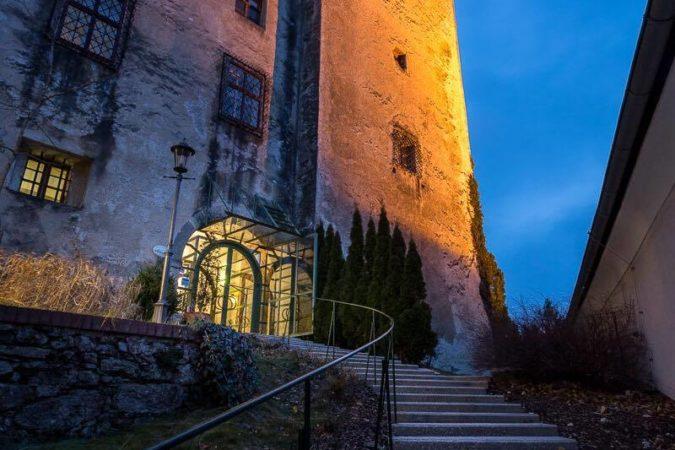 Schloss Krumbach_Schloss Abend