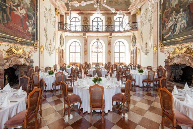 Schloss Leopoldskron Marmorsaal Gala