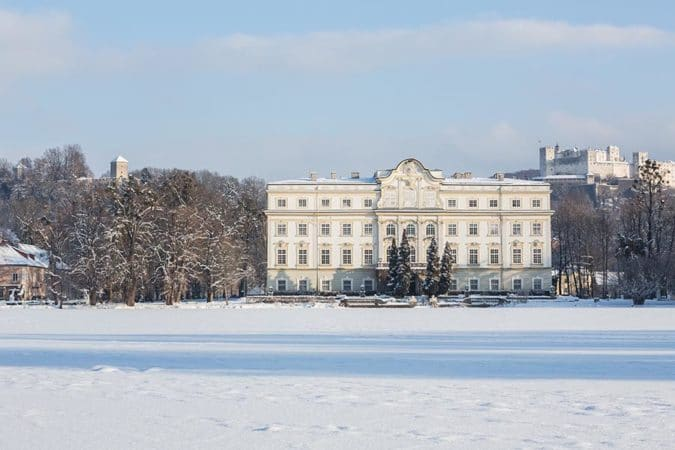 Schloss Leopoldskron Winter Schloss