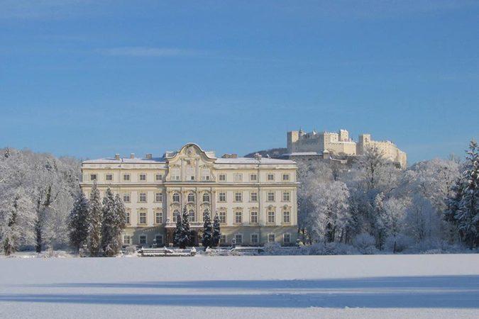 Schloss Leopolskron Winter