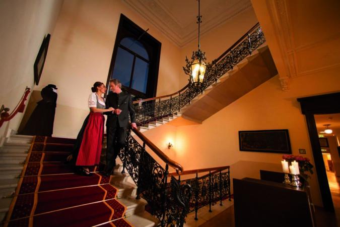 Villa Seilern Treppenaufgang