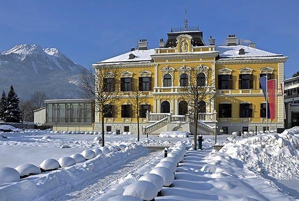 Villa Seilern_ im Schnee