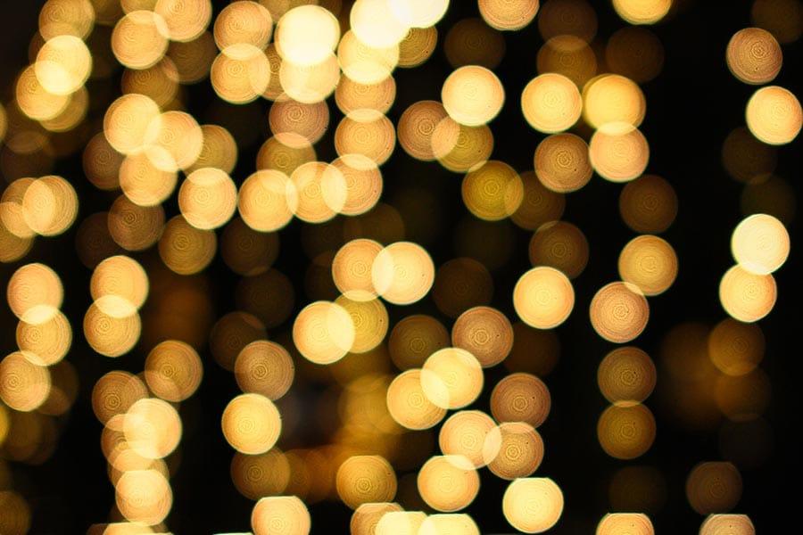Goldene Lichter