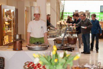faulenzerhotel buffet