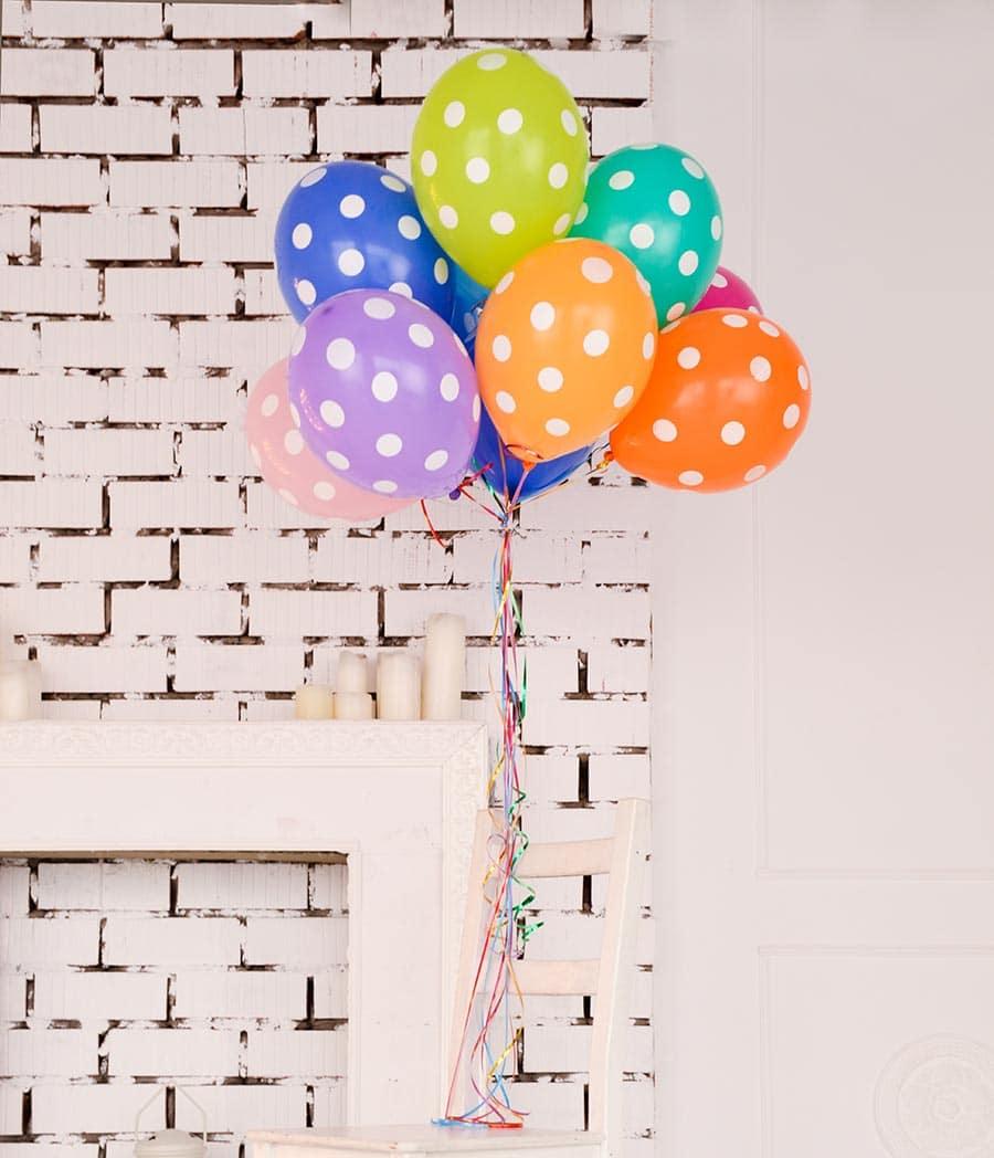 Balloons mit Punkten