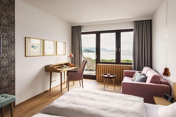 Neu renovierte Mini Suite Seehotel Das Traunsee_(c) www.traunseehotels.at