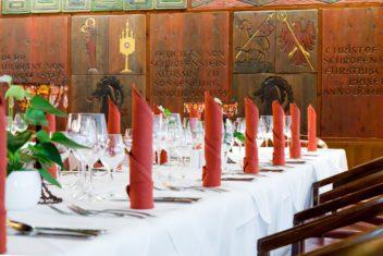 Rittersaal Gedeck