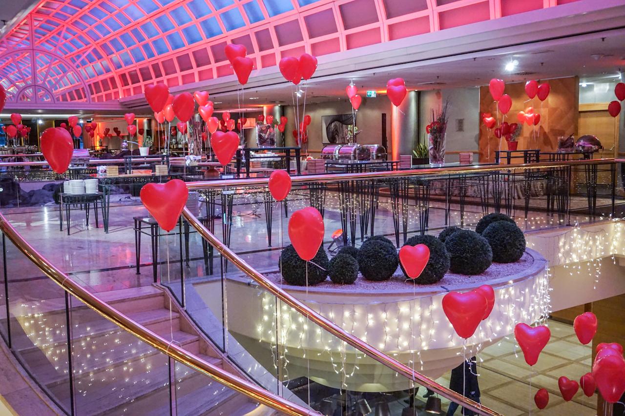 Vienna Marriott Hotel Valentinstag